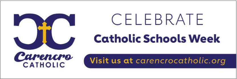 Catholic Schools Week Schedule